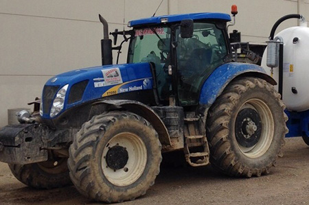 Tractor New Holland 7050 (BFR)